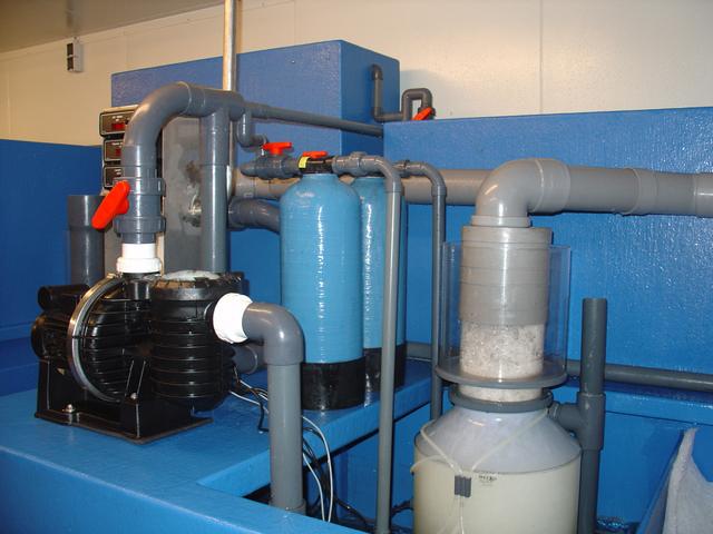 Filtertechniek opslagsystemen kreeften bij groothandel