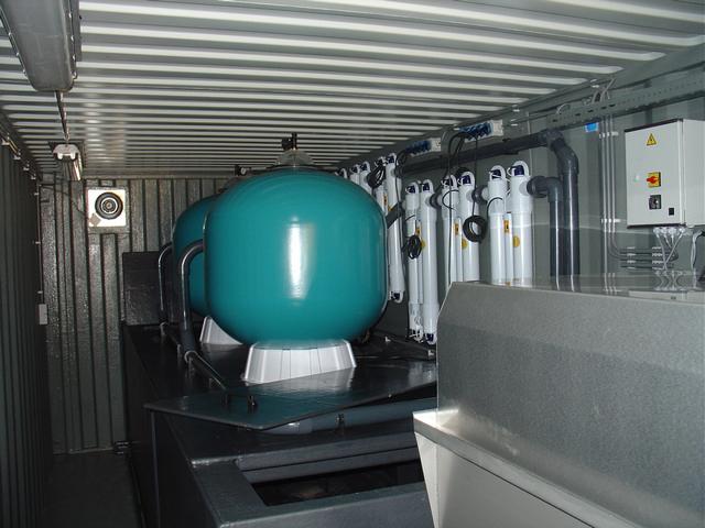 Onderdeel techniek bestrijding blauwalgen
