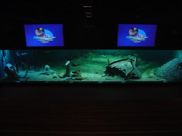 Foto 01 Oosterschelde aquarium Aquapolis Neeltje Jans