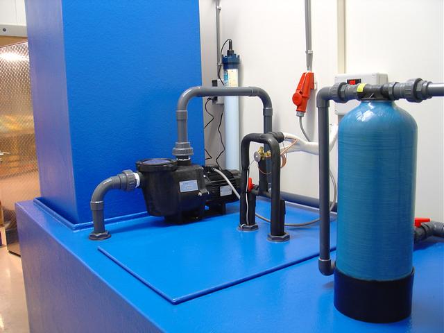 Filtertechniek kreeftenopslag bewaarsysteem