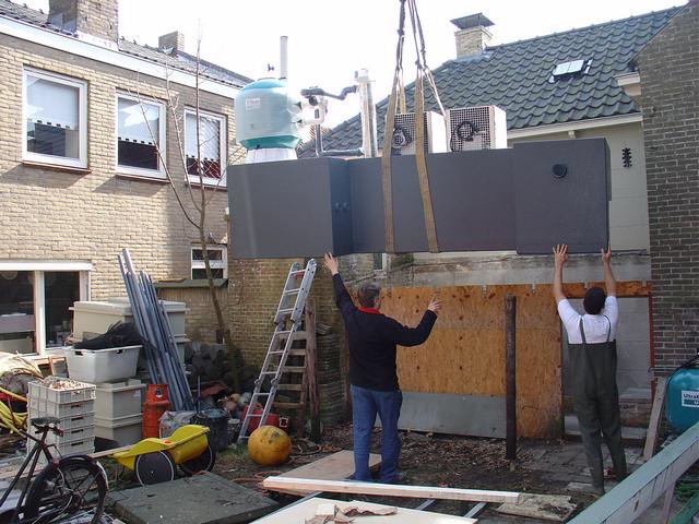 Nieuwe filtertechniek showaquaria De Noordwester Vlieland