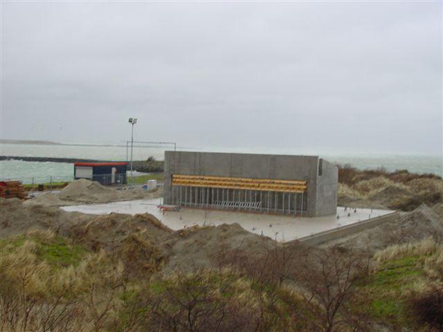 Ruwbouwfase Aquariumproject Oosterschelde zeeaquarium Aquapolis Neeltje Jans