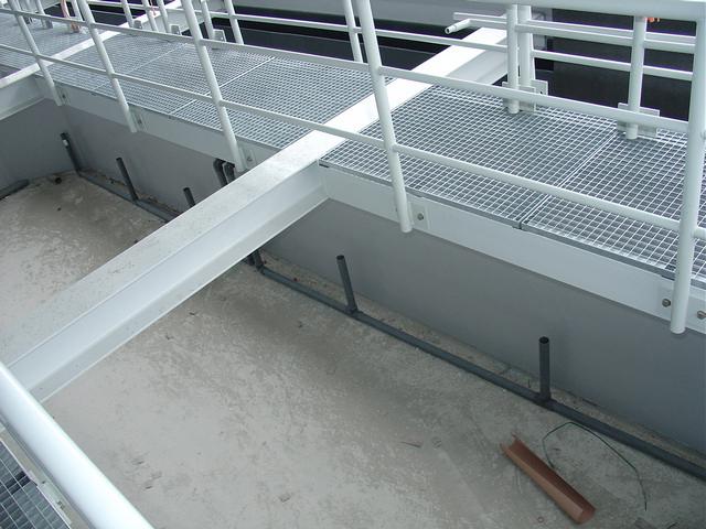 Ruwbouwfase filtertechniek Oosterschelde zeeaquarium Aquapolis Neeltje Jans