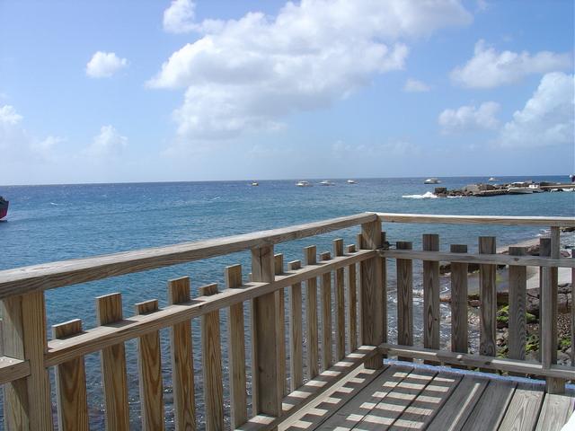 Foto 04 Aankomst Van Lokale Vissers Op Saba Met Hun Vangsten