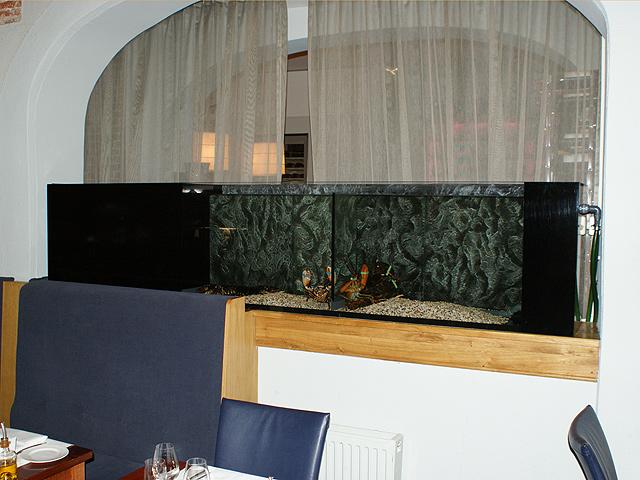 Foto 07 Op Maat Gemaakt Homarium Bij Een Restaurant
