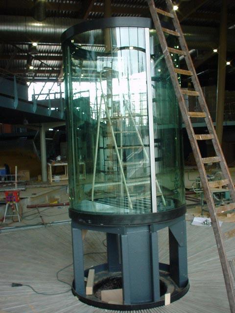 Foto 11 Ruwbouwfase Cilinder Aquarium Voor Kwallen Wmd Drenthe