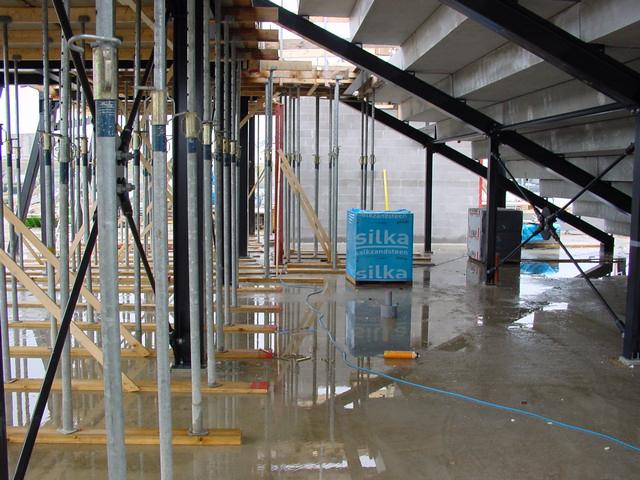Foto 15 Ruwbouwfase Filtertechniek Oosterschelde Showaquaria Aquapolis Neeltje Jans