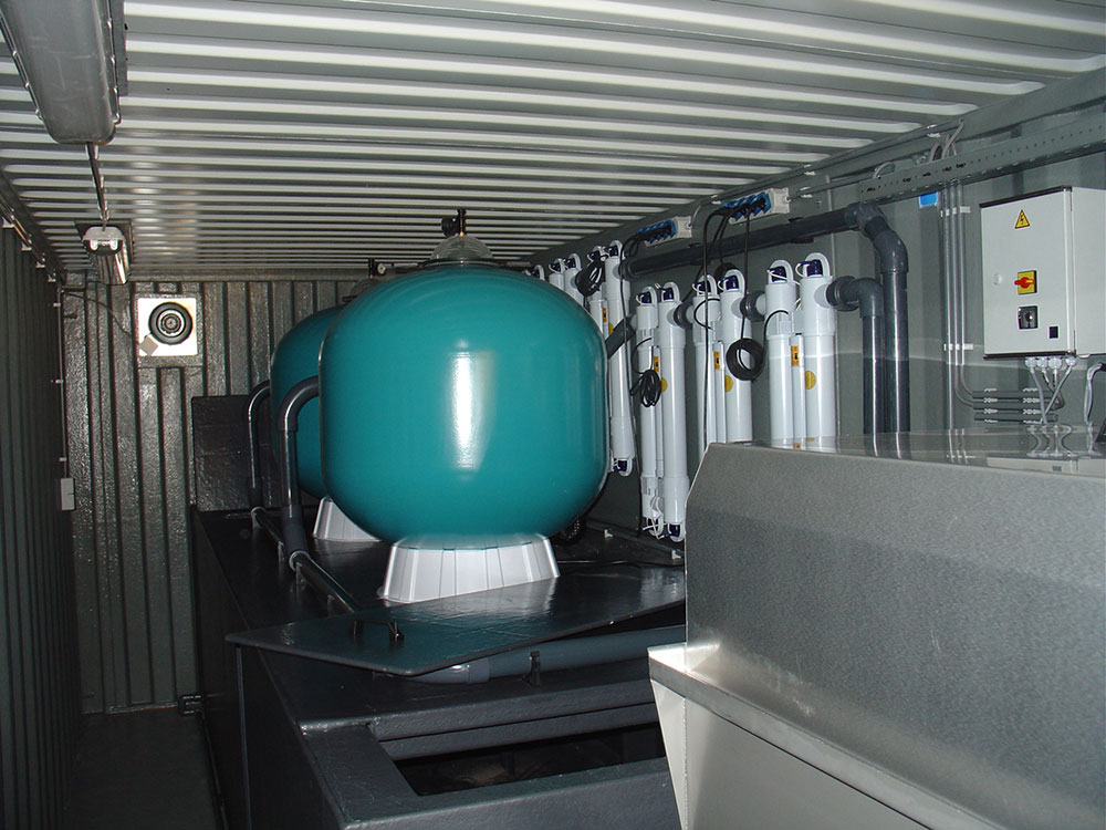 Blauwalg Project Filtertechniek